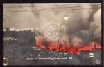 Dresden Brand der Vogelwiese 1909