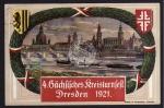 Dresden 1921 4. sächs. Kreisturnfest SST Fest