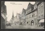 Saalfeld Saalestrasse mit Apotheke