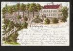 Schöningen Litho 1901 Hotel Kurhaus