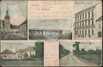 Kostelce nad labem 1906 Pozdrav Kostelci