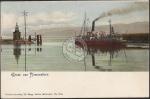 Romanshorn Hafen Ausfahrt Dampfer