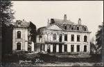 Glatzau Loos zerstörtes Haus südwestlich Lille