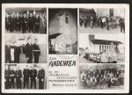 Munchouse Einweihung Kirche 1959 Foto-Karte