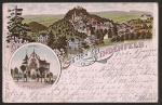 Lindenfels Litho Villa Marie Kur u. Wasserheil