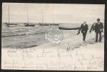 Prerow Fischerboote Strand 1904