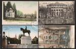 4 AK Strassburg Kaiser Wilhelm Denkmal 1911 Astro