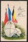 französische Oster Karte