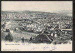 Zürich von der Weid aus 1903 Predigerplatz