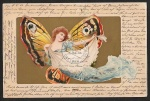 Schmetterlingskarte Steglitz nach Meran mit An