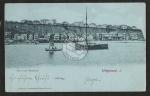 Helgoland Ober und Unterland 1902 Mondschein A