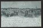 Vegesack  1898 Total Mond Mondscheinkarte