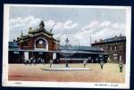 Laon La Gare Der Bahnhof Deutsche Militär