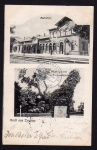 Eystrup Bahnhof 1000jährige Eiche 1907