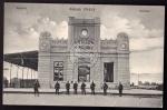 Kalisz Bahnhof Kalisch 1914 Posen 1915