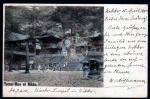 Ganzsache AK Yomei-Mon at Nikko 1900 4 Sen GS