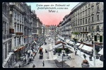Wien Graben gegen Kohlmarkt 1908