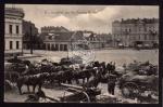Festung Kowno Pferde Kanonen Geschütz