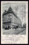 Wien Taborstr. 45 a Hotel Sächsischer Hof 1929