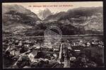 Meiringen Wellhorn Wetterhorn 1912