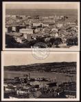 2 AK Trieste Panorama del Porto Panorama
