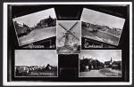 Groeten Cadzand 1964  Mariastraat Molen Haven