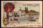 Zürich Eidg. Turnfest 1903 Wappen Turner Sport