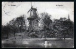 Bremen Windmühle Mole Wallpartie 1910