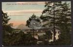 Lofer von der Villa Alpenrose gesehen 1908