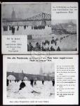 2 AK Frankfurt Main zugefrorener Main 1914 Eis