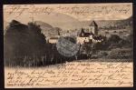 Spiez Kirche Schloss Alpen 1903