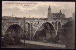 Luxembourg Adolfbrücke & Sparkasse
