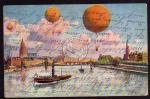 Ballon Wettfahrt über Köln 1916