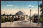 Libau Badeanstalt Straßenbahn Liepaja 1917