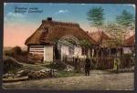 Russische Landschaft 1917 Feldpost