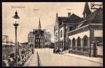 Skalmierzyce Bahnhof Postamt Skalmeritz 1910