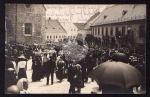 Fest Umzug 1931 am Kaiser Franz Josef Denkmal