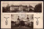 Lany Zamek  Vchod do zamku 1924