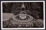 Interlaken Blumenuhr im Kursaal 1939