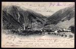 Martigny et le col de Forclaz 1909