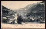 Landeck Tirol mit Parseiersgruppe Kirche 1904