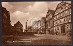 Fritzlar Markt Rolandbrunnen Gashof Nägel 1928