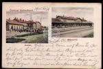 Subotica Szabadka Szabadkarol Bahnhof 1905