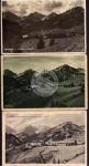 3 AK Rehbach bei Schattwald Tirol 1920