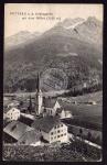 Pettneu a.d. Arlbergbahn mit dem Riffler 1910