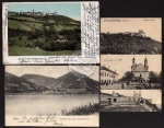 3 AK Wien XIX. Kahlenberg Leopldsberg 1902 1904