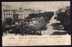Tunis Place de la Residence de la marine 1905