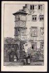 Büdingen 1918 Steinernes Haus Otto Ubbelohde