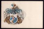 Studentika vera amicitia schönes Wappen 1900
