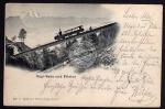 Rigi Bahn u. Pilatus 1900 Eisenbahn Zug Lok